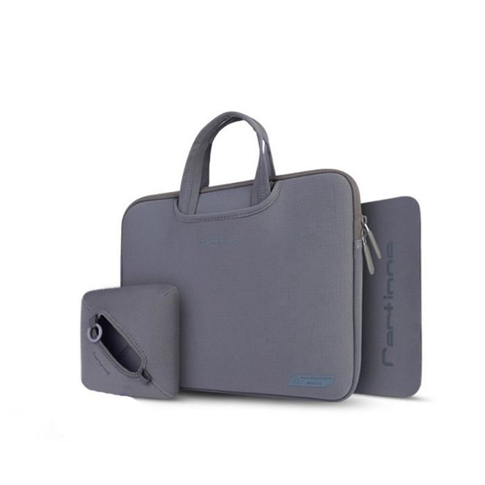 91b113748a291 Cartinoe torba na laptopa Breath Series 13,3 cala szara 13.3 \ Czarny    Etui inne \ na laptopy   93,67 zł