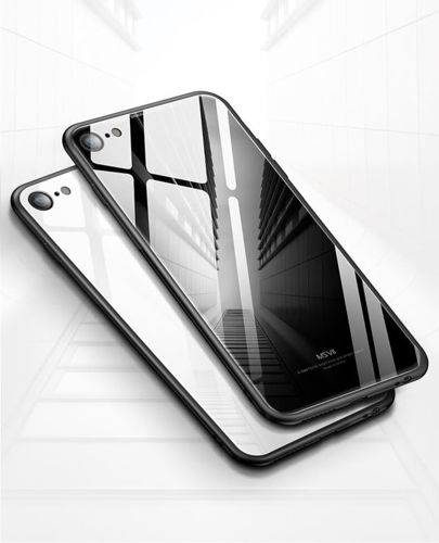 Etui GLASS iPhone 7 / 8 czarny